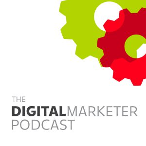 The DigitalMarketer Podcast logo