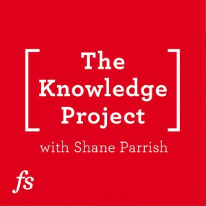 The Knowledge Project podcast logo
