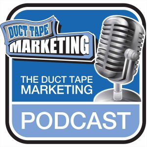 duct tape marketing podcast logo