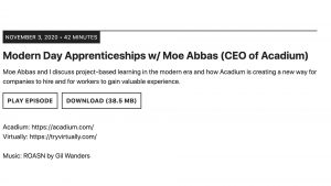reshaping education podcast episode moe abbas