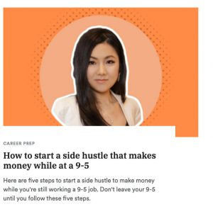 How to start a side hustle that makes money while at a 9 to 5