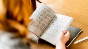 Reading marketing books
