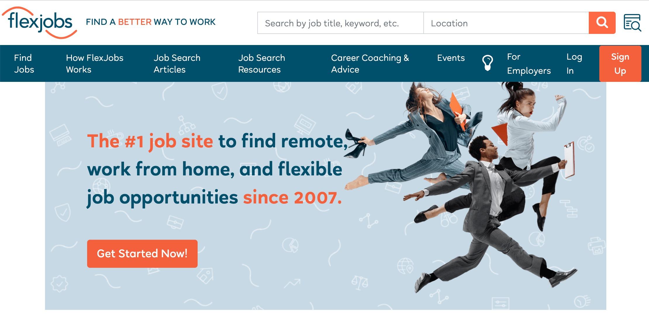 Entry-level marketing Flexjobs